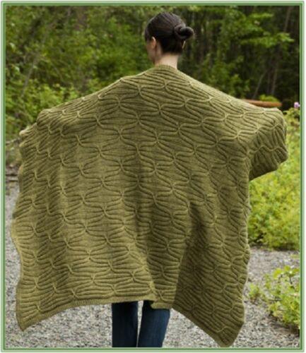 Tejer patrón afgano Manta Cobertor de HA018 con cables y Costilla