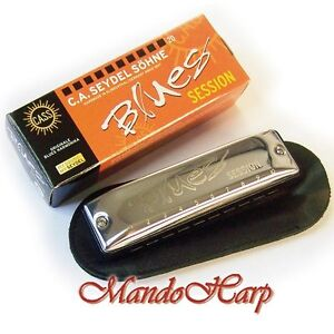Seydel-Harmonica-10201-Blues-Session-SELECT-KEY-NEW