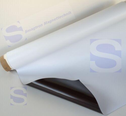 0,8mm x 600mm x 300mm Magnetfolien Magnetfolie weiß matt Magnetband