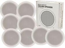 8 X Adastra ec56v Altoparlante Soffitto Bianco da 100 V LINEA PA HIFI SOUND SYSTEM AUDIO