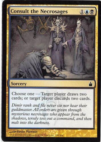 Consult the Necrosages *PLAYSET* Magic MtG x4 Ravnica SP