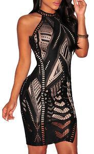 Abito-donna-nero-tubino-aderente-vestito-pizzo-elasticizzato-schiena-nuda