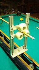 12in Lathe roller rest pool cue repair tip ferrule clean retaper rewrap refinish