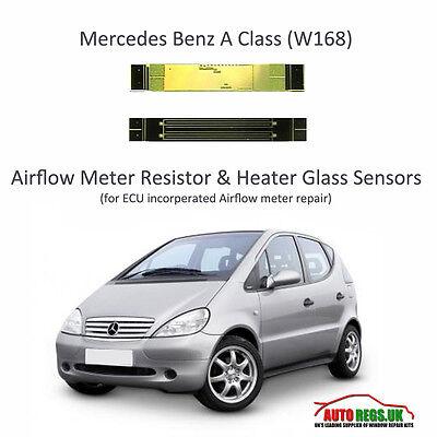 NEW Mercedes Benz A Class W168 ECU Airflow meter Resistor /& Heater Glass Sensors