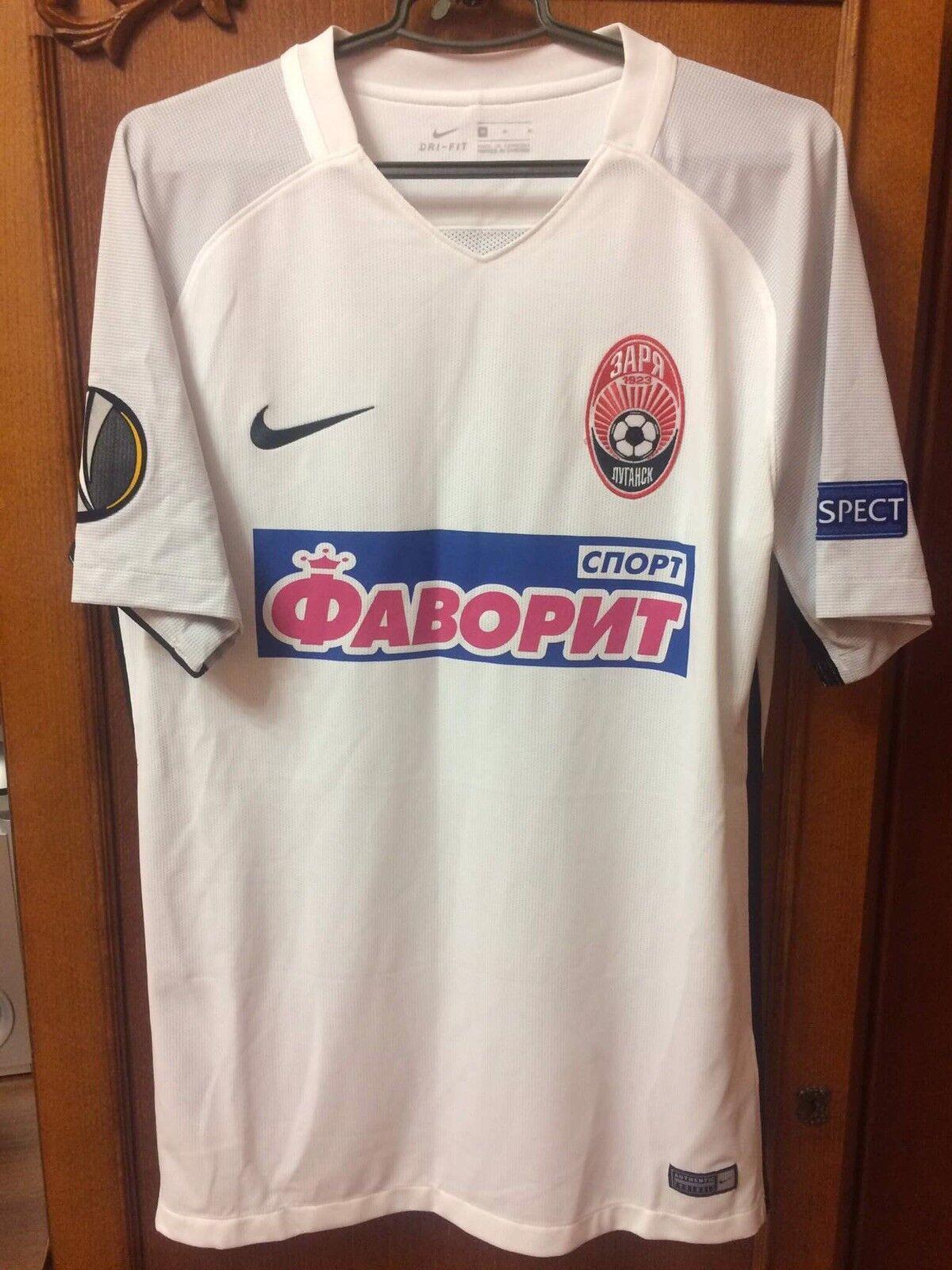 Zorya Luhansk shirt jersey maglia match worn Leonidas Brasil Olimpik Donetsk