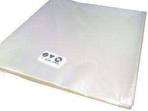 """100 pcs. 7"""" Plastic Vinyl Record SLEEVES COVERS SP Outer ♫ Clear&Thin"""
