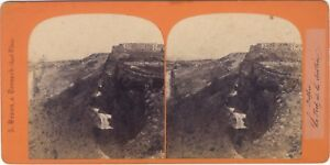 Belfort-il-forte-di-la-Justice-Foto-A-Braun-Stereo-Vintage-albumina