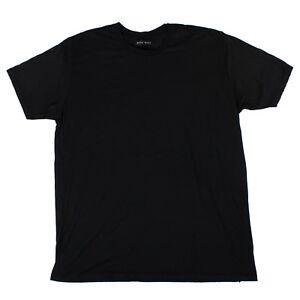 Manica Sdrucito Baja Nuova Etichetta shirt Corta Nero Embassy Con East T xEYPYqzw