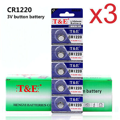 5-Pack CR1616 1616 Battery Key Fob Remote