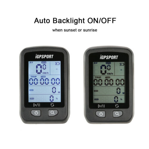 IGPSPORT Cycle GPS Speedometer Bicycle Bike Computer Stopwatch With Mount T8N8