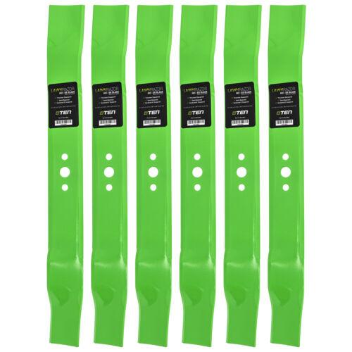 LawnRAZOR Mower Blade AYP Husqvarna 165833 175064 189028 406712 Mulching 6 Pack