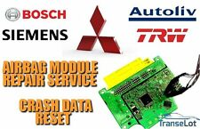 MITSUBISHI AIRBAG ECU SRS ECU AIRBAG MODULE CRASH DATA RESET REPAIR SERVICE