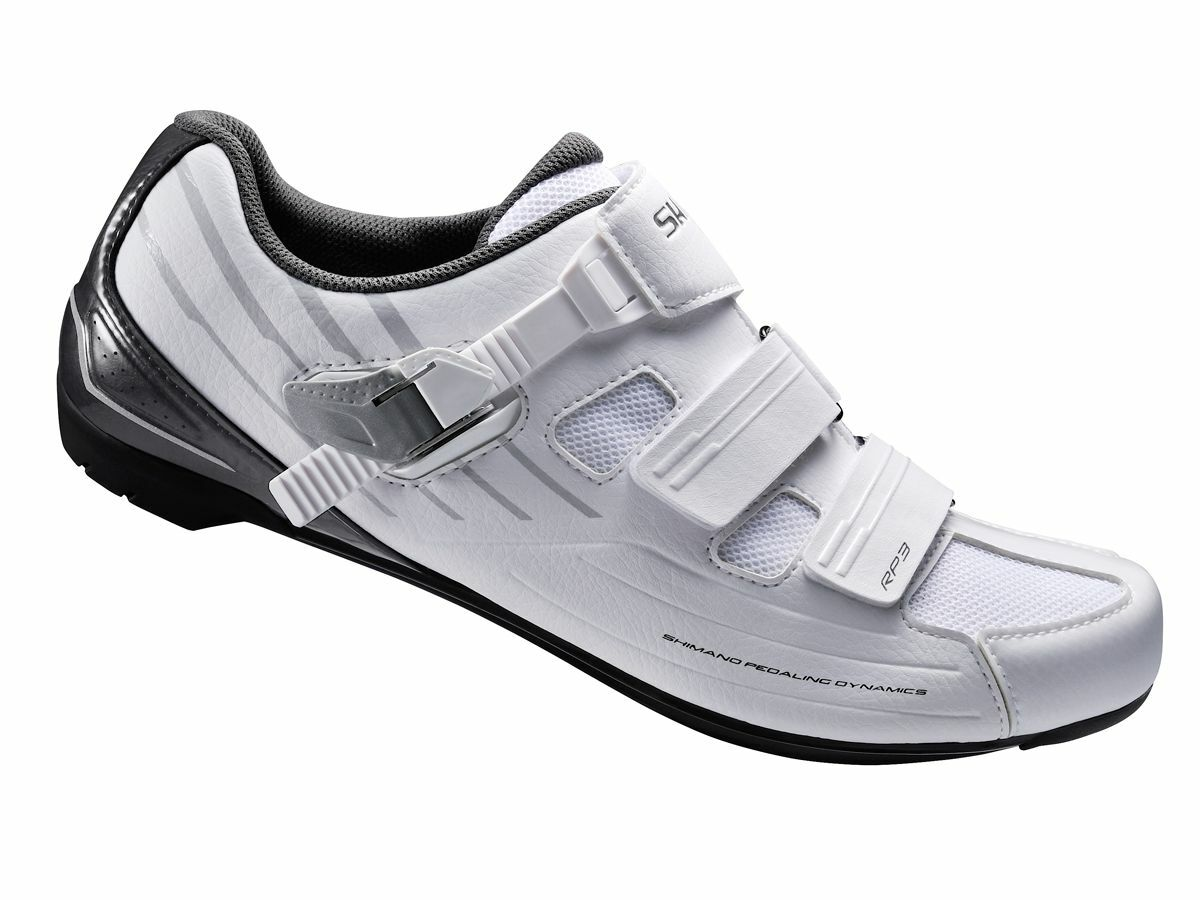 Shimano SHRP3W Wouomo Road Bike Cycling scarpe bianca  44 US 11.2 RP3