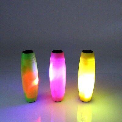 Luminous Rollver LED Fidget Hand Spinner Tumbler Desk Flip Stick Anti-Stress Toy