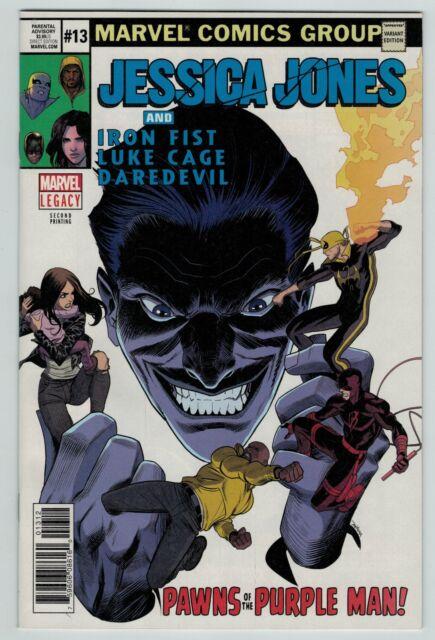 Jessica Jones 13 14 15 16 17 Return of the Purple Man Marvel Comics NetFlix