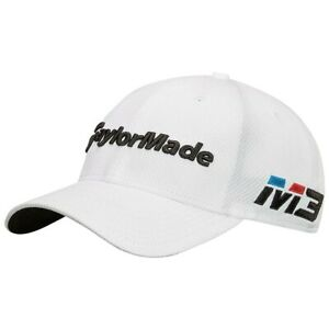 New-TaylorMade-Tour-39Thirty-Golf-Hat-Fitted-White-New-Era-Pick-a-Size