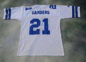 finest selection b8e77 33e89 Details about Vintage Starter NFL Dallas Cowboys Sanders #21 Jersey Size  52/XL.