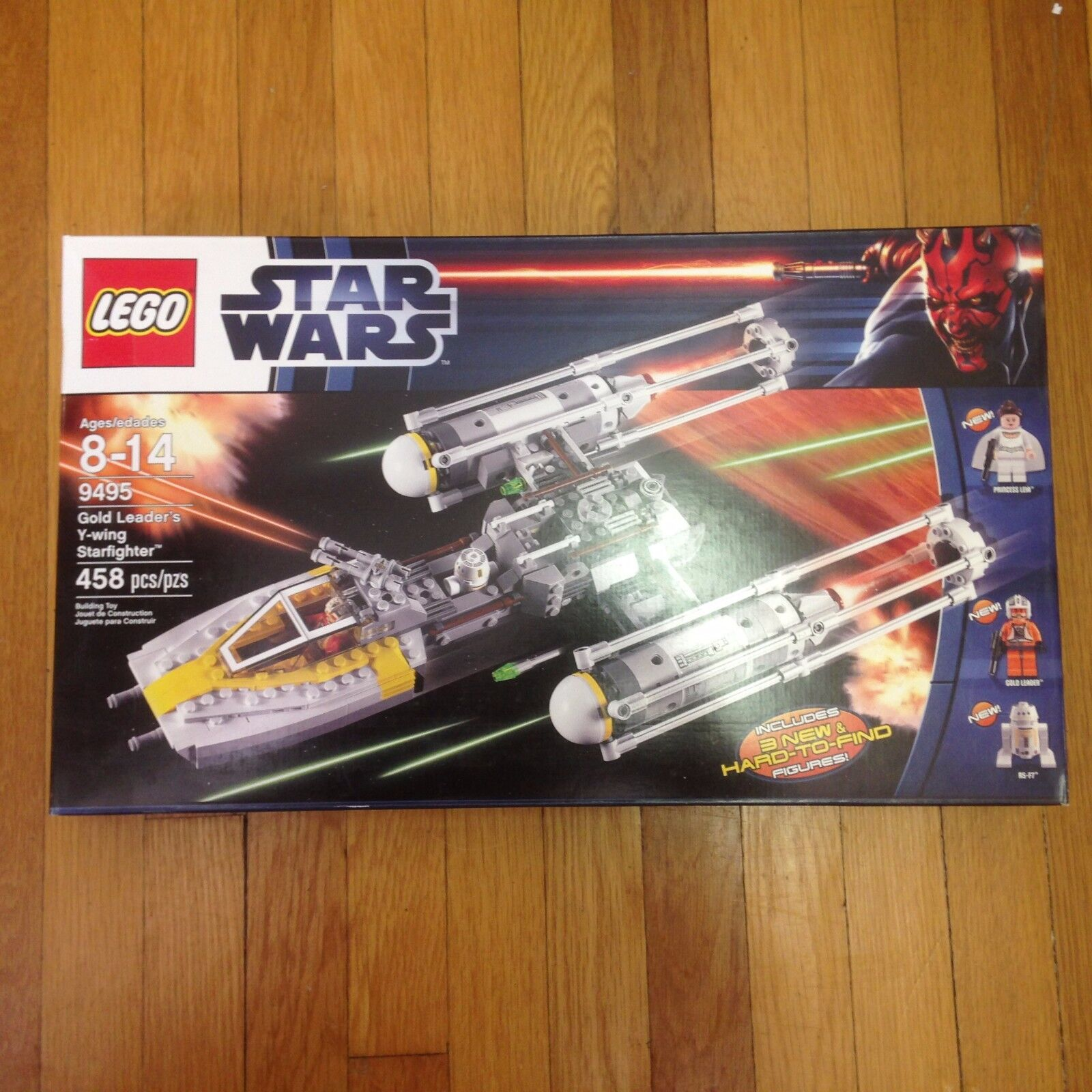 LEGO STAR WARS oro LEADER'S Y-WING STARFIGHTER 9495