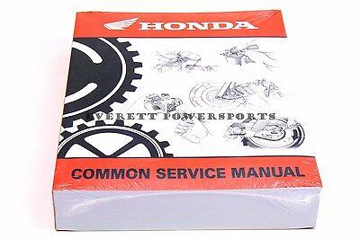 honda 61csm00 common service manual