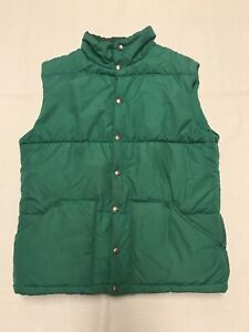 Vintage-The-North-Face-Puffer-Quilted-Green-Vest-Mens-Size-Large-NC18