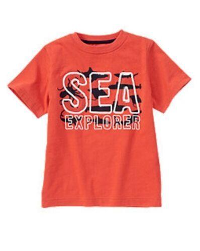 GYMBOREE BOYS SEA EXPLORER TEE SIZE 4 OR 5  NWT