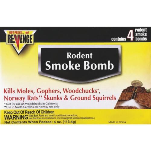 EACH Bonide Rvnge Mole Gas Bomb 4Pk 61110 Unit