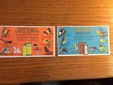 Wampole's Creo-Terpin Compond The Turner Pharmacy Rexall Brandon Wis Ink Blotter