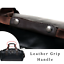 thumbnail 4 - New Leather Vintage Cross Body Shoulder Duffel Gym Sports Overnight Travel Bag