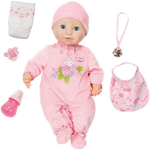 Zapf Creation Baby Annabell Doll 2016 Baby Doll Fille Fille Fille Fille Nouveau