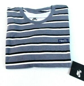 Contorno lucha micro  Nike SB Men's Just Do It JDI Stripe Tee T-Shirt 923424 100 Size Med 797 []  | eBay