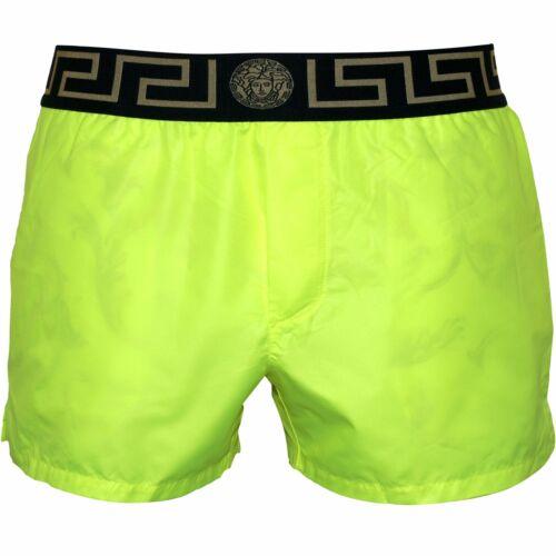 Fluo Jaune Versace Iconique Luxe Homme Shorts De Bain