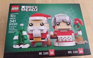 BRAND NEW LEGO Mr 341 pieces for 10 years+ 40274 /& Mrs Claus Set