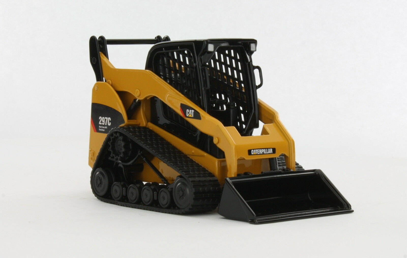 Caterpillar 1 32 Cat 297C Multi-Terrain Loader with Work Tools Norscot 55168
