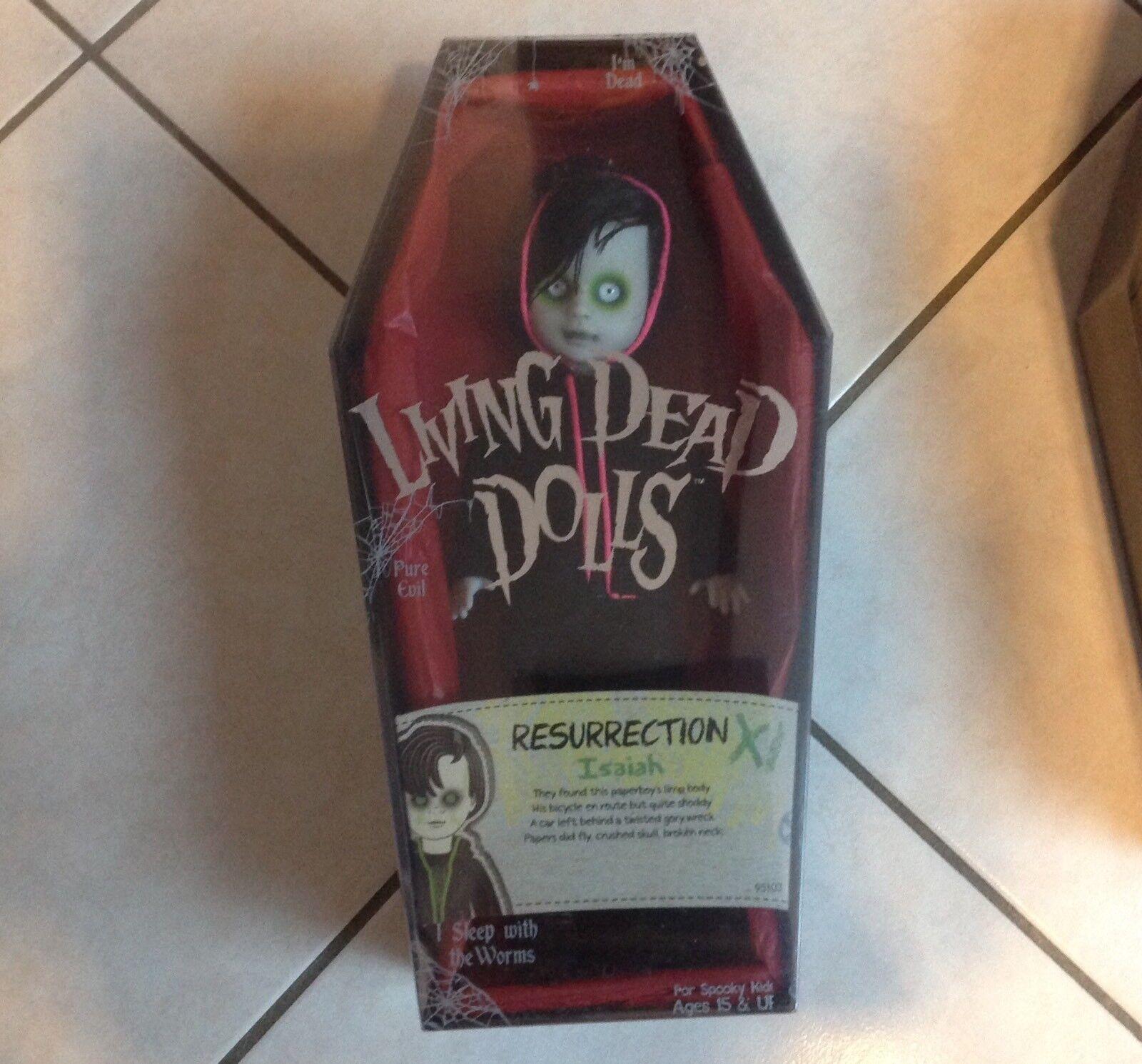 Living Dolls Dead Dolls Living Variant Isaiah Sealed Resurrection e8d7ca
