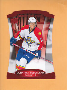 JONATHAN-HUBERDEAU-2015-16-UD-CONTOURS-SP-99-RED-31-PANTHERS-FREE-SHIPPING