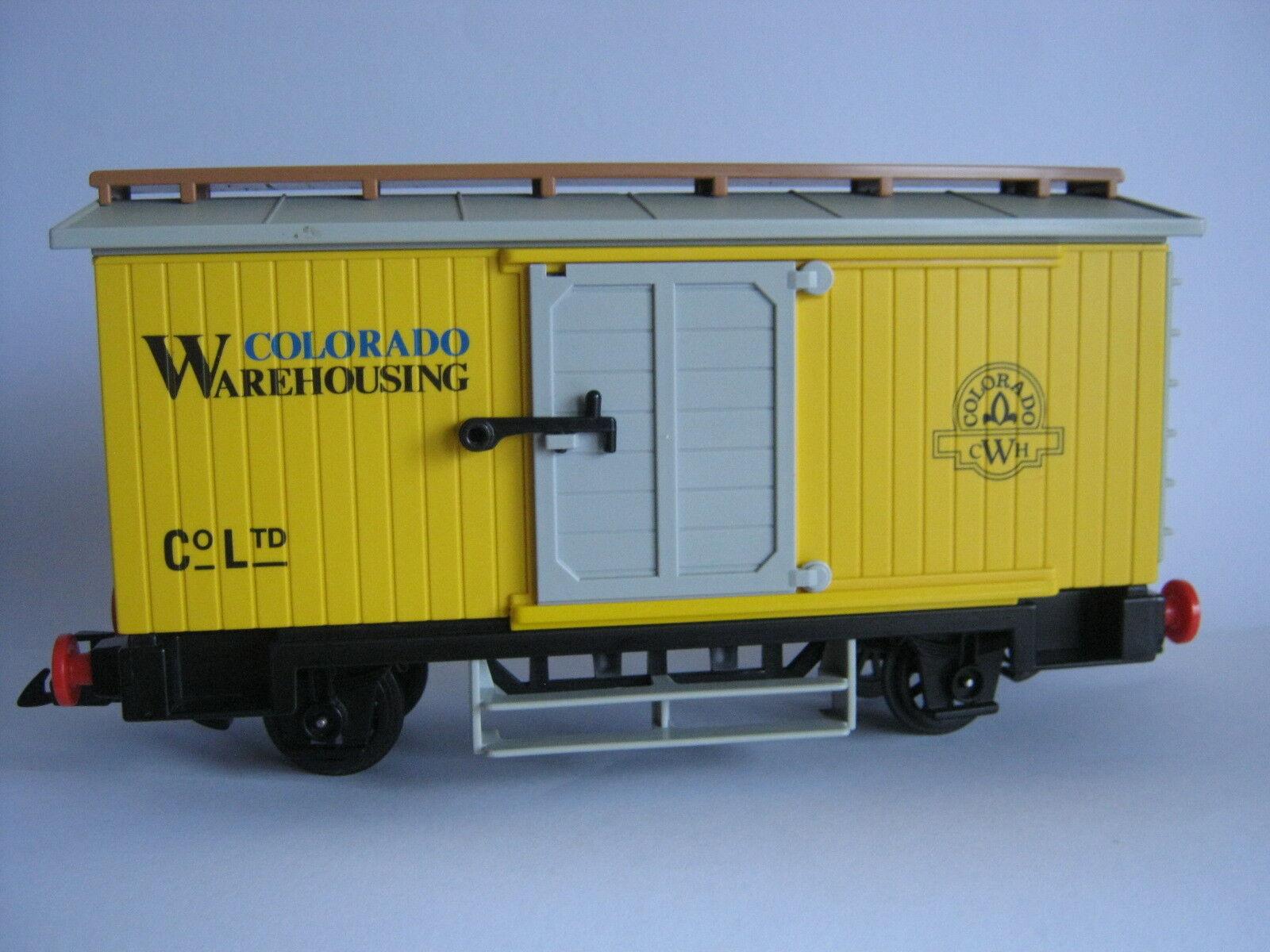 Playmobil Farbeado Warehouseing 4122 Western Gepäckwagen Waggon für RC Zug