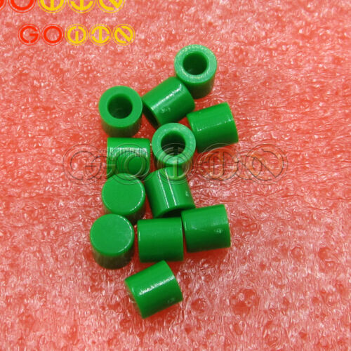 100PCS Tactile Push Button Cap Touch Button Switch Cap Mutil-Color for 6x6Series
