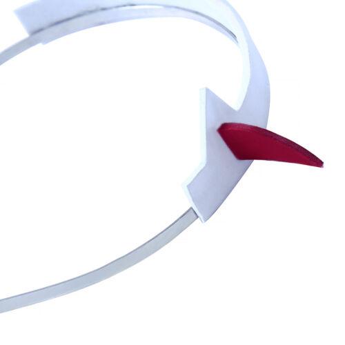 DARLING In The FRANXX Zero Two CODE:002 Headband Headwear Cosplay Accessary Prop