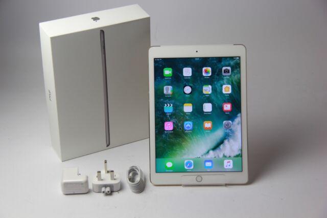 Apple iPad Air 2 64 Go, Wi-Fi + Cellulaire (Débloqué) 9.7 in (environ 24.64 cm) or bon, Grade B 210