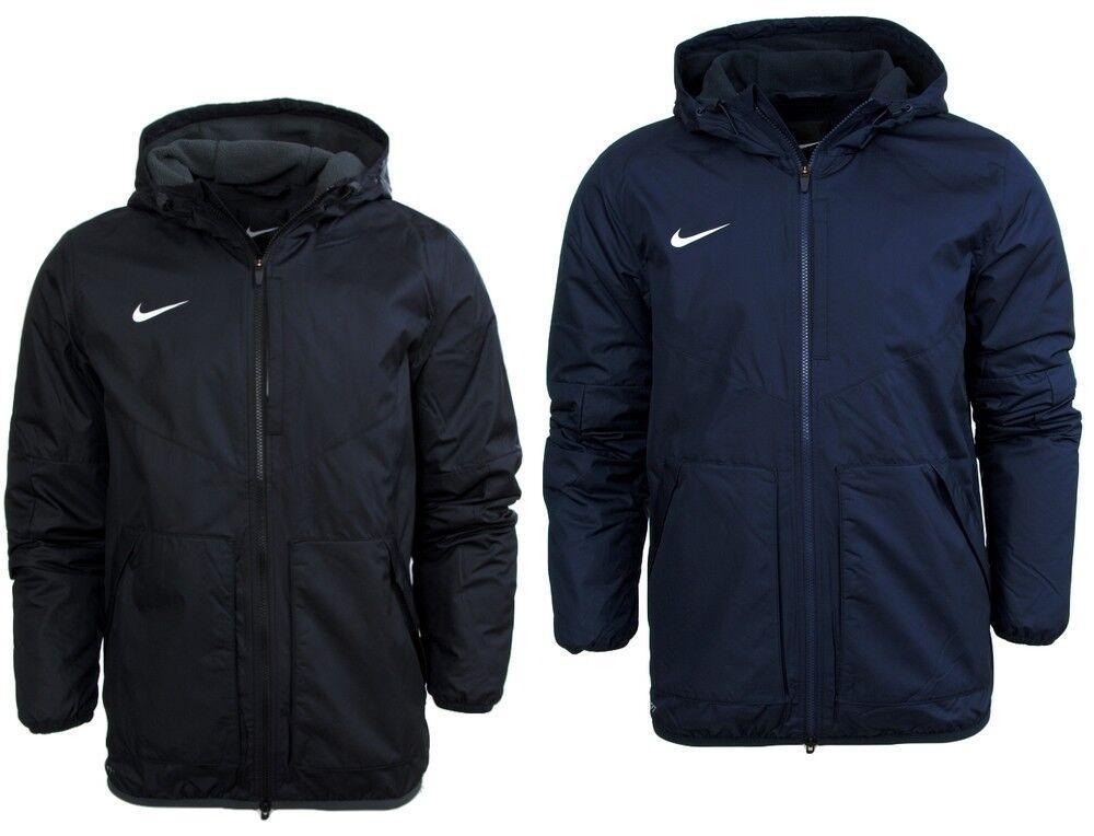 51e922aab0 Mens Adults Kids Nike Team Fall Jacket Padded Winter Coat Fleece Lined  Waist XL 44/46 Navy for sale online | eBay