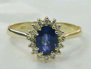 Anello-Principessa-oro-giallo-18-kt-con-diamanti-e-zaffiro-naturale