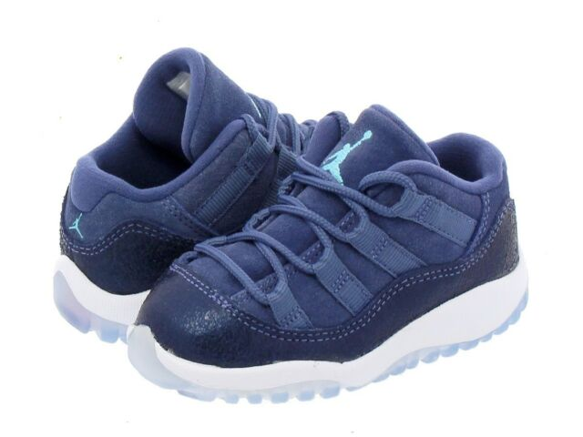 pretty nice 8dda1 55db4 JORDAN 11 RETRO LOW BLUE MOON/POLARIZED BLUE-BINARY Toddler