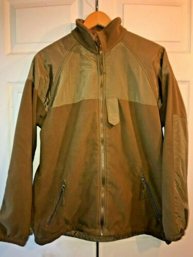 US NAVY ISSUE NWU AOR1 AOR2 GORETEX PARKA COYOTE BROWN FLEECE LINER POCKETS S M