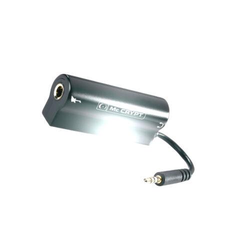 Mc Crypt Gitarrenverstärker Interface X-Port 3,5mm Klinke Adapter Kabel NEU /&OVP