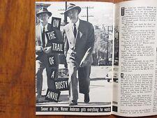 Feb, 23, 1957 TV Guide (WARNER  ANDERSON/BARBARA  LAWRENCE/GUY KENT/FROSTY ROYCE