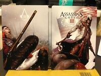 Assassin's Creed 3 UK HMV Exclusive Collector's G1 Steelbook Limited Edition New