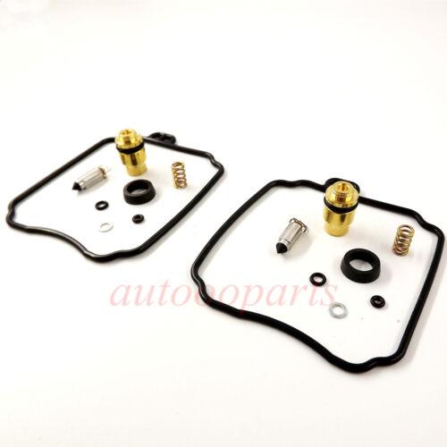 2 pcs New Carb Repair Rebuild Kits for Yamaha XV250 Virago XVS650 V-Star 18-5171