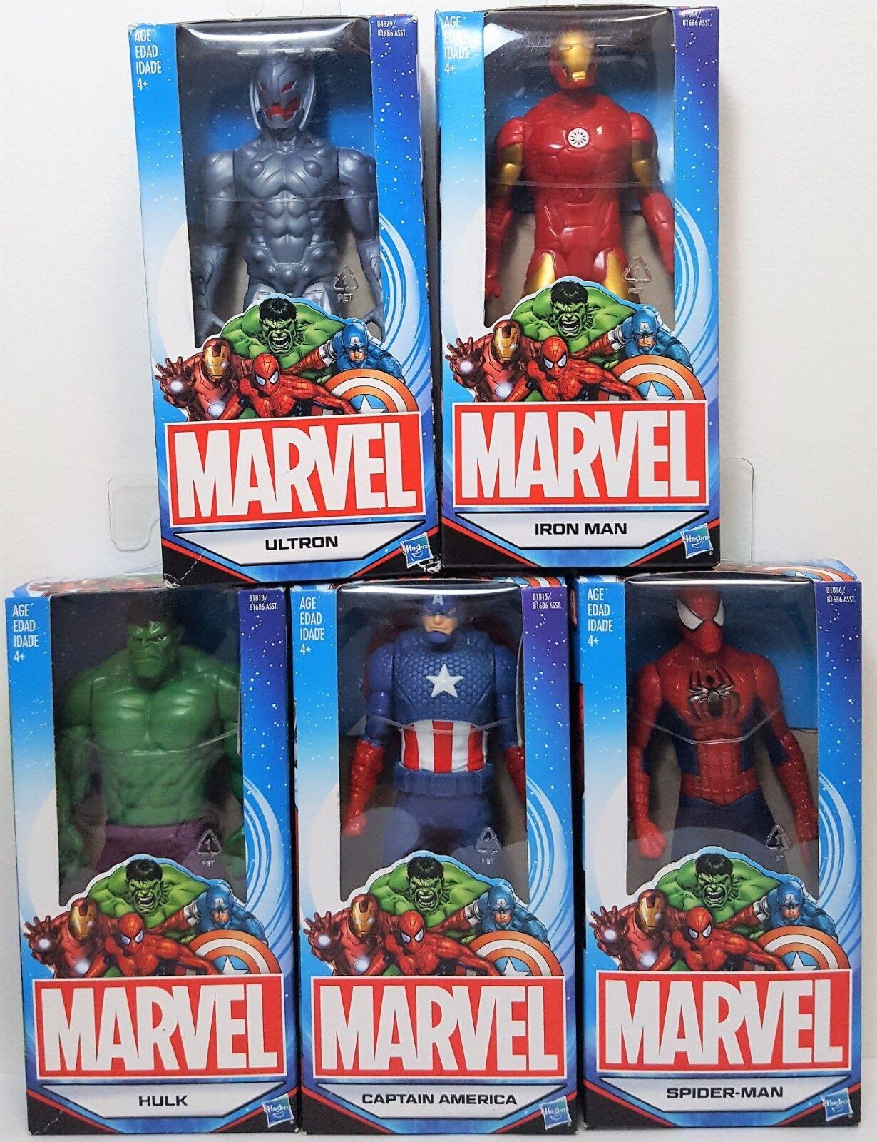 Marvel abbildung menge 5 - amerika  iron man  spider - man  ultron 6  hasbro