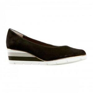 Van Dal Ariah Black Suede Wedge Shoes | eBay