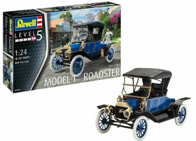 Ford T Modell Roadster 1913 1:24 NEU//OVP L5 Revell 07661